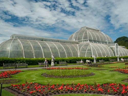 The Kew Gardens in London